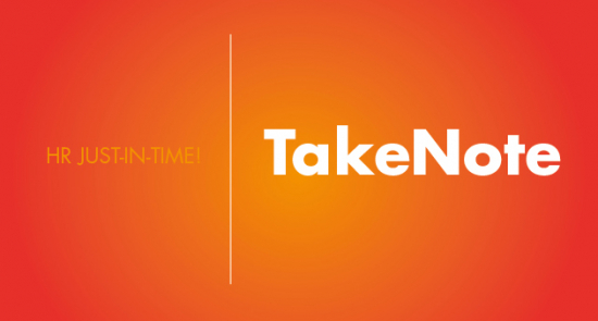 TakeNote logotype